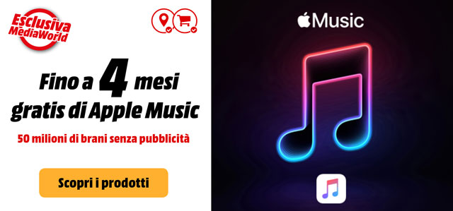 Apple Music - mediaworld.it