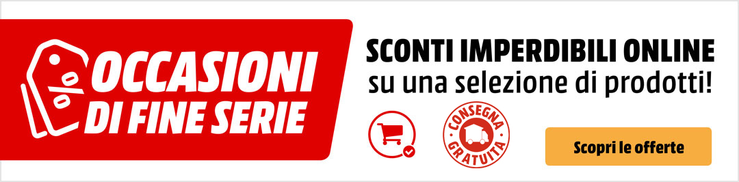 Prodotti di fine serie - mediaworld.it