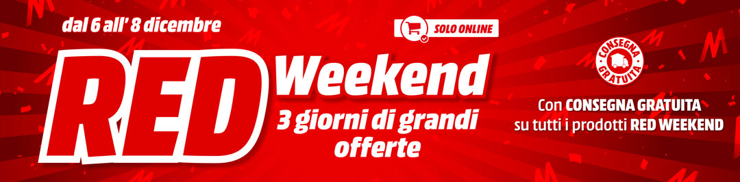 Red Weekend - mediaworld.it