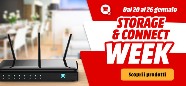 Storage & Connect Week - mediaworld.it