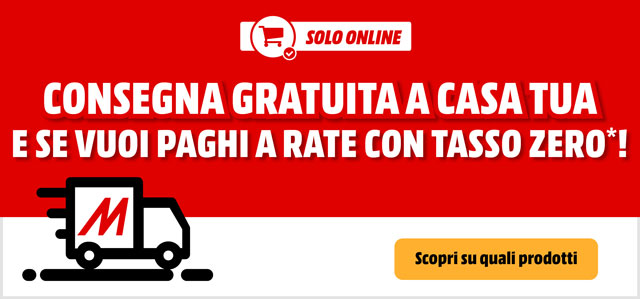 Consegna Gratuita - mediaworld.it