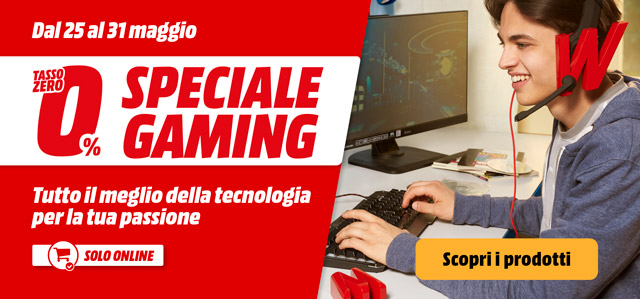 Speciale Gaming - mediaworld.it
