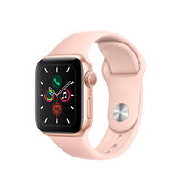 APPLE Watch Series 5 GPS 40mm in alluminio color oro - Sport Rosa sabbia