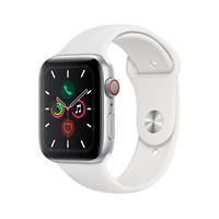 APPLE Watch Series 5 GPS+Cellular 40mm in alluminio color argento - Sport Bianco