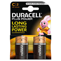 DURACELL PLUS POWER C DURACELL