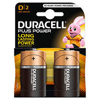 DURACELL PLUS POWER D DURACELL