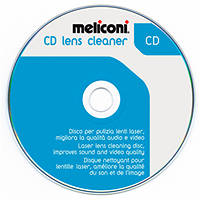 - Disco per pulizia lenti laser lettori CD MELICONI CD Lens Cleaner su Mediaworld.it