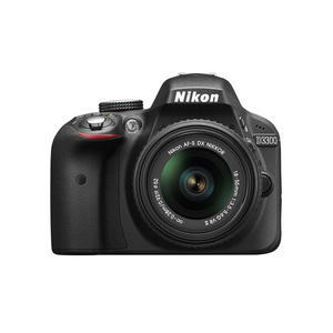 NIKON D3300 Black Kit 18-55 VR II