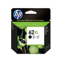 HP 62XL Nero cartuccia d'inchiostro originale XL C2P05AE