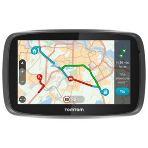 TOMTOM GO 5100 World traffico + autovelox SIM integrata