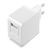 Cellularline USB Charger Kit Ultra - Fast Charge Universale Cavo e caricabatterie 10W Bianco