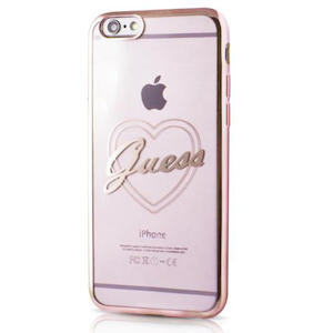 GUESS HEART COVER PK IPHONE 6 PLUS/6S P