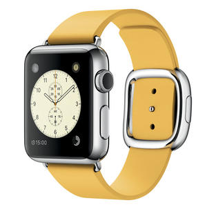 APPLE Watch 38mm cinturino Modern giallo