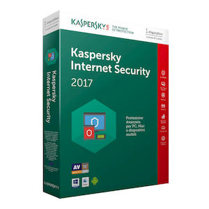 KASPERSKY Internet Security Attach 2017 1PC