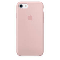 APPLE Cover Silicone iPhone 7 Rosa Sabbia