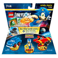 LEGO Dimensions Level Pack Sonic - PRMG GRADING KNAN - SCONTO 17,50%