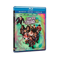 Suicide Squad 3D - Blu-ray