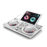 DJ software controller compatto PIONEER DJ WE GO4 White su Mediaworld.it