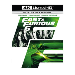 Fast And Furious 6 (4K Ultra HD) - Blu-ray