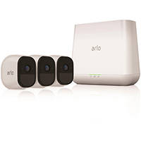 Kit di videosorveglianza HD con 3 videocamere senza fili night/day NETGEAR ARLO PRO VMS4330-100EUS su Mediaworld.it