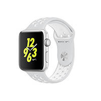 Watch APPLE Watch Nike+ 42mm Alluminio Cinturino Bianco su Mediaworld.it