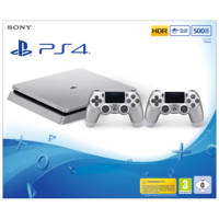 Console PS4 SONY PS4 500GB Silver + DS4 Silver V2 Chassis D su Mediaworld.it